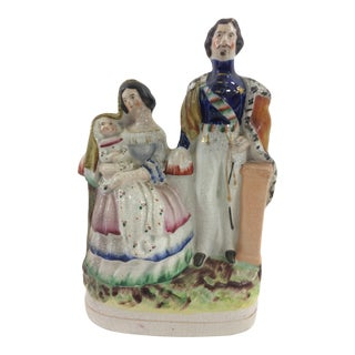 Napoleon III Staffordshire Figurine For Sale