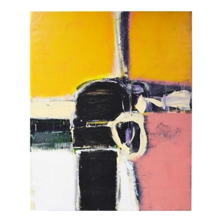 Large Abstract by Ben Marcune 1935 - 2018 For Sale