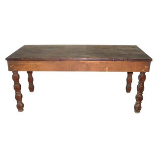Hand Made Rustic Farm House Table
