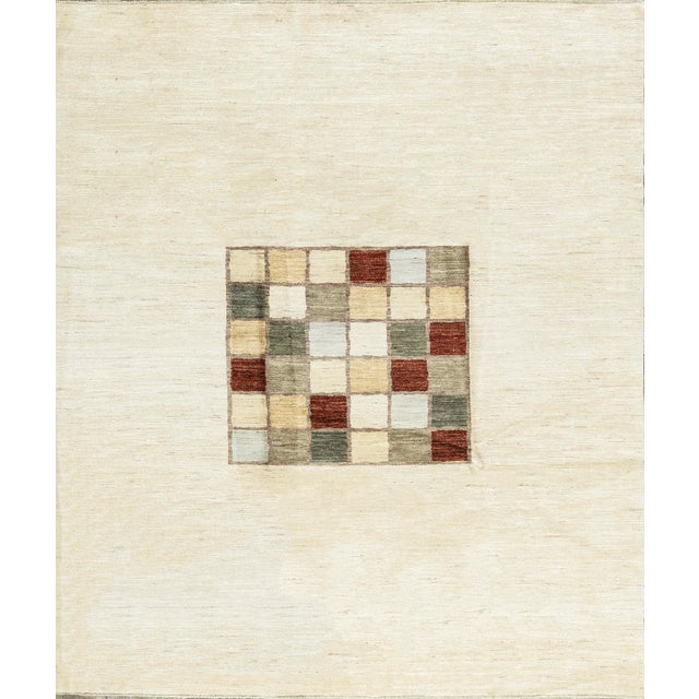 Contemporary Hand Woven Rug 8'8 X 10' For Sale - Image 4 of 4
