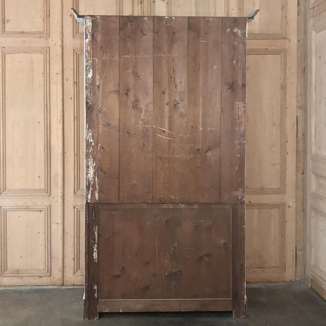 Antique French Painted Bookcase For Sale - Image 12 of 13