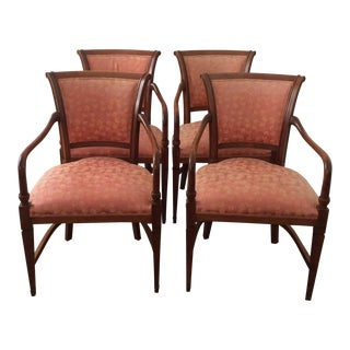 Annibale Columbo Italian Dining Chairs - Set of 4 For Sale