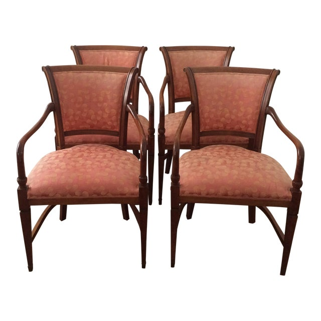 Annibale Columbo Italian Dining Chairs - Set of 4 - Image 1 of 11
