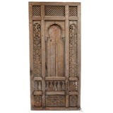 Image of Antique Architectural Indian Window Facade For Sale