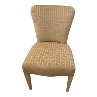 Scalamandre Beige Upholstered Dining Room Chair For Sale