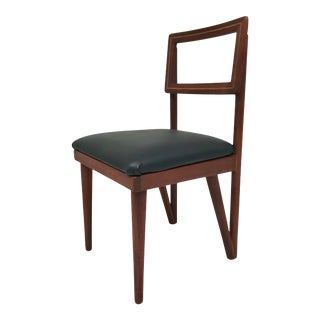 Mid-Century Modern Mahogany Side Chair For Sale