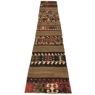 Antique Konya Kilim Runner C. 1875 For Sale