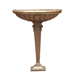 Gold and Silver-Gilt Greek Revival Console