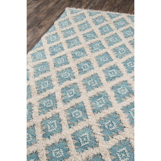 "Harper Aqua Hand Woven Area Rug 7'6"" X 9'6"" Preview"