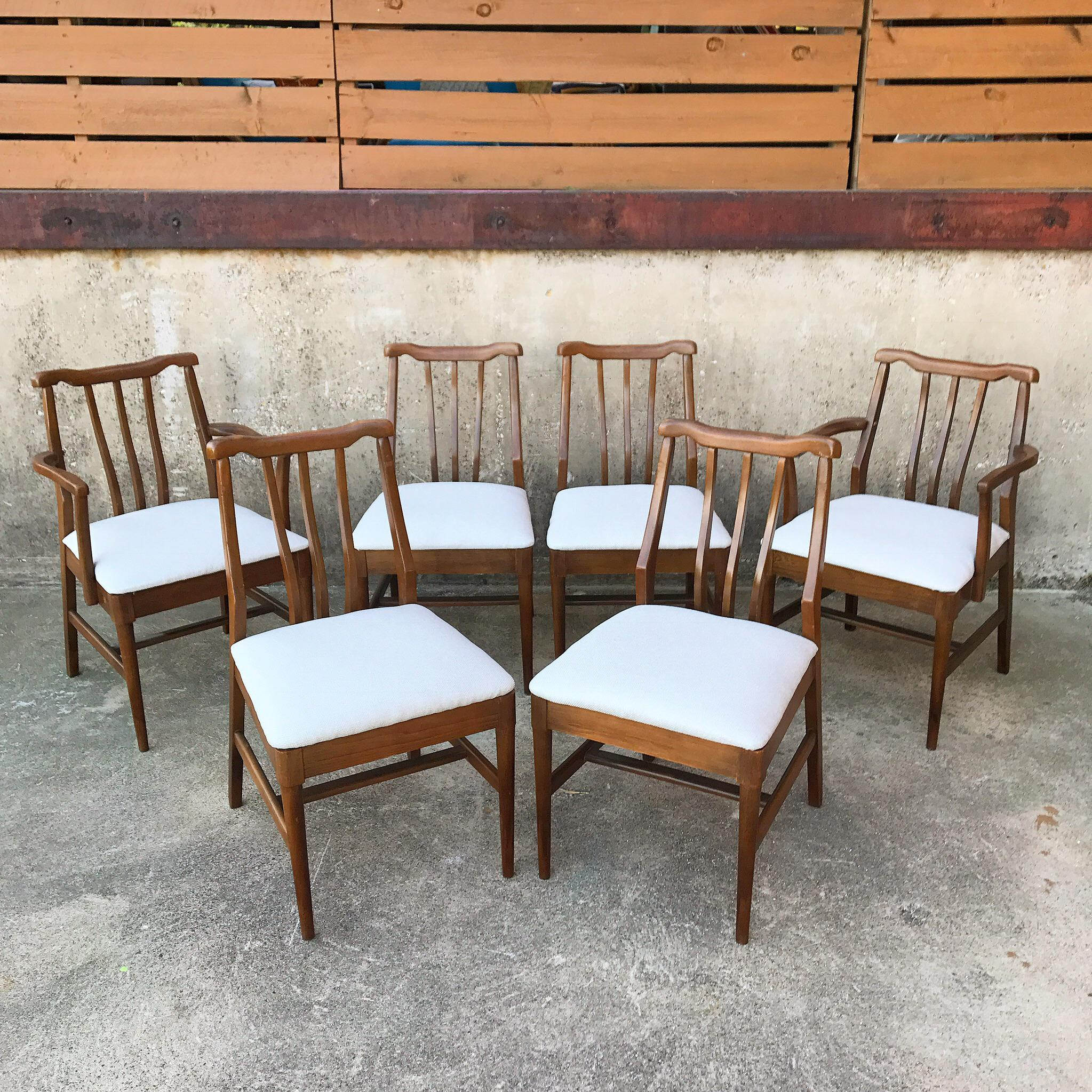 Charming John Stuart Dining Chairs   Set Of 6 For Sale   Image 5 Of 5