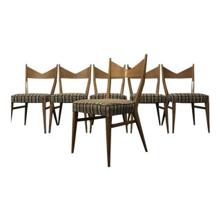 Paul McCobb Mid Century Modern Dining Chairs - Set of 6 For Sale
