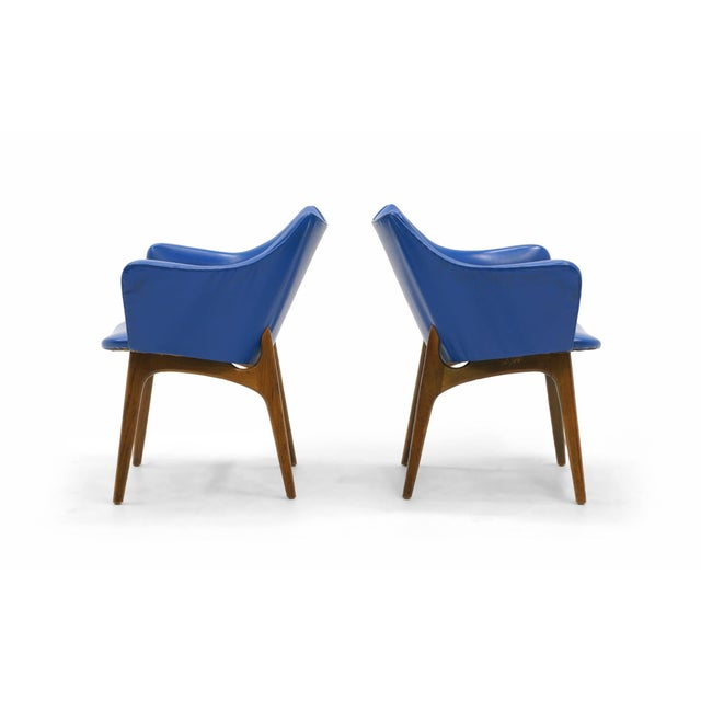 Adrian Pearsall Dining Chairs, Set of Four - Image 3 of 10