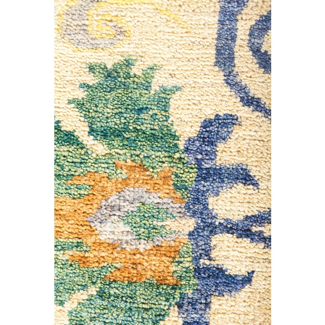 "Suzani Hand Knotted Area Rug - 10' 3"" X 12' 0"" - Image 3 of 4"