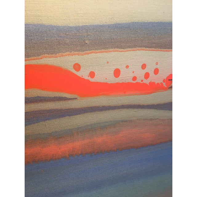 """Abstract Nico Munuera Abstract Painting """"Boneless Vi"""" For Sale - Image 3 of 10"""