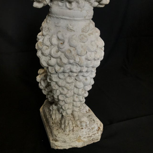 1920s 1920s Dog Lovers' Life Sized Stone French Poodle Sculpture Statue For Sale - Image 5 of 13