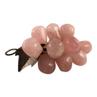 Pink Alabaster Grape Cluster
