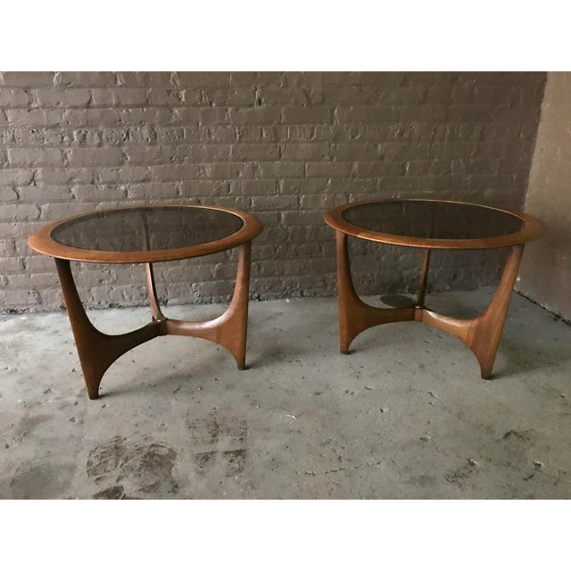 Mid-Century Modern 1950s Mid Century Modern Lane Side Tables - a Pair For Sale - Image 3 of 8