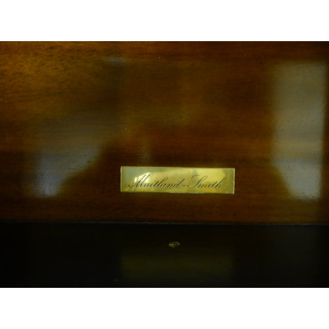 Late 20th Century 20th Century Maitland Smith Leather Clad Chest Drawers For Sale - Image 5 of 9
