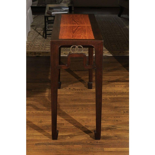 Stunning Restored Altar Console Table by Michael Taylor for Baker, Circa 1970 For Sale In Atlanta - Image 6 of 11