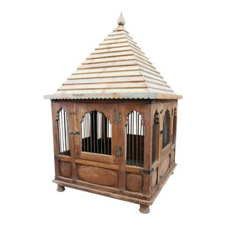 Antique Indian Chicken Temple For Sale