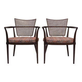 "Bert England "" Forward Trend"" For Johnson Furniture Mid Century Chairs - a Pair"