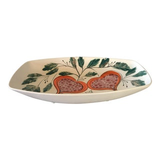 Mid-Century Hand Painted Bowl