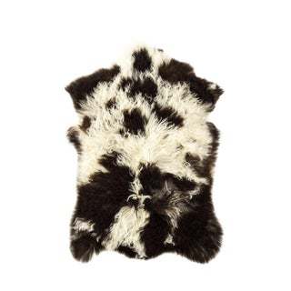 "2010's Modern Natural Sheepskin Pelt - 1'10""x2'10"" For Sale"
