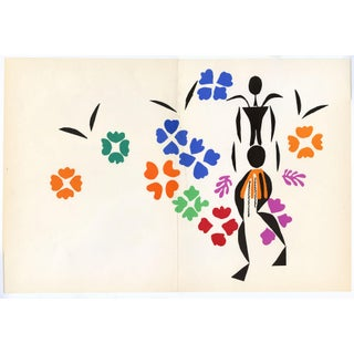 """La Negresse"" - Henri Matisse. From ""Verve Vol. 35/36"" (1958) For Sale"