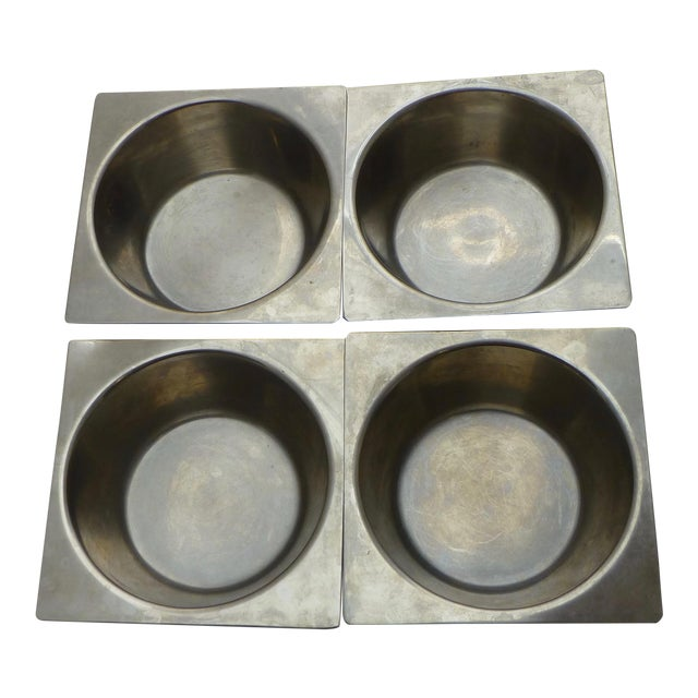 Danish Modern Stainless Steel Bowls - Set of 4 For Sale