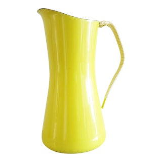 Yellow Dansk Kobenstyle Water Pitcher For Sale