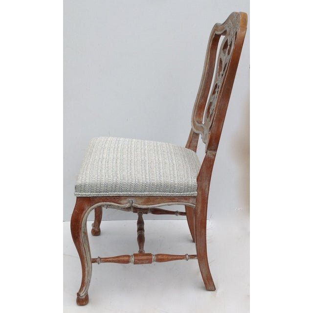 Antique French Parcel Gilt Accent Chair - Image 3 of 11