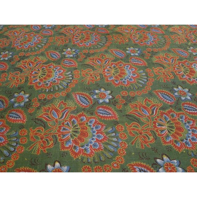 Art Nouveau Antique Russian Fabric Panel For Sale - Image 3 of 7