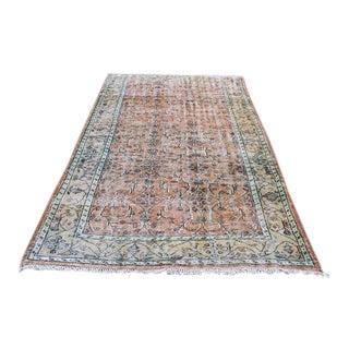 """Vintage Floor Anatolian Handmade Rug - 5'7"""" x 8'10"""""""