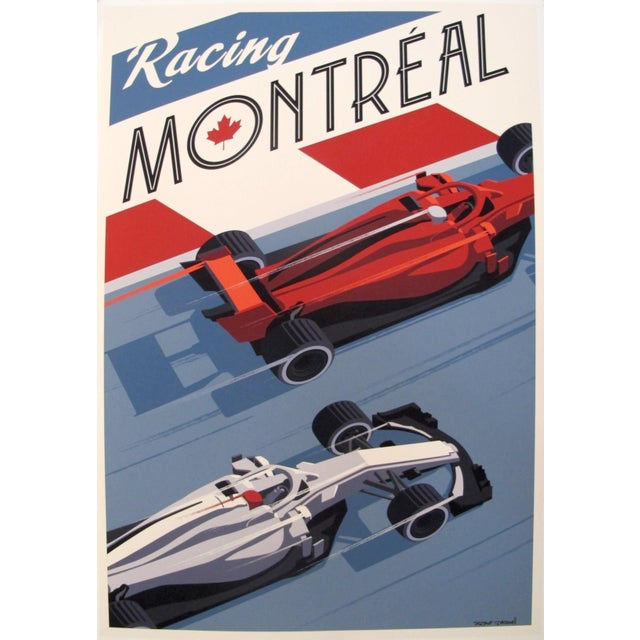 2010s 2019 Montreal Grand Prix Poster, Steve Thomas For Sale - Image 5 of 5