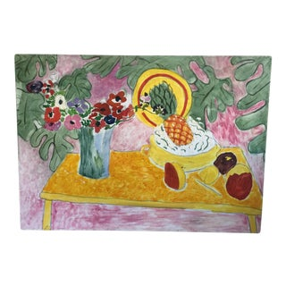 Matisse Style Modern Still Life Oil Painting