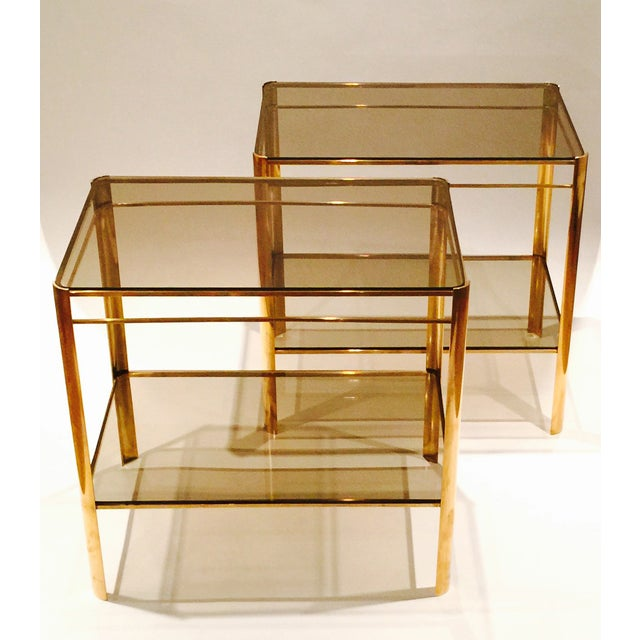 Malabert 2-Tier Side Tables - A Pair - Image 2 of 5