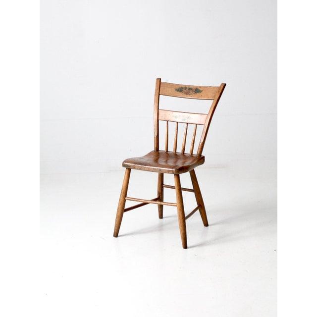 Antique Primitive Chair For Sale - Image 10 of 10