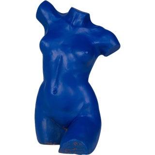 Cast Metal Female Nude Sculpture For Sale