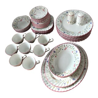 Johnson Brothers Summer Chintz Pattern Dinnerware Set - 54 Pc. For Sale