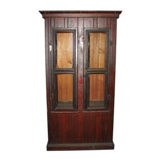 20th Century Traditional Old Jelly Cupboard For Sale