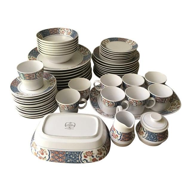 Vintage Noritake Progression Ming Garden Dinnerware - 54 Piece Set,reduced Final For Sale