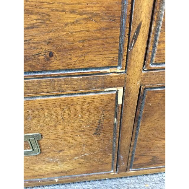 Vintage Henredon Artefacts Campaign Dresser - Image 8 of 11