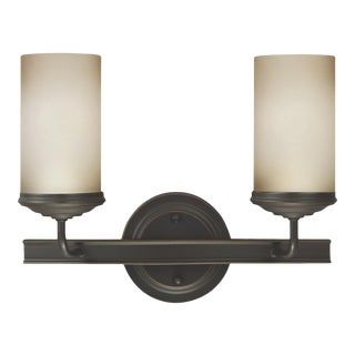Isabel Two Light Wall / Bath, Bronze For Sale