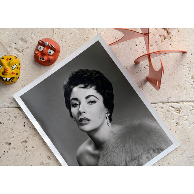 Mid-Century Modern Elizabeth Taylor circa 1953 For Sale - Image 3 of 5