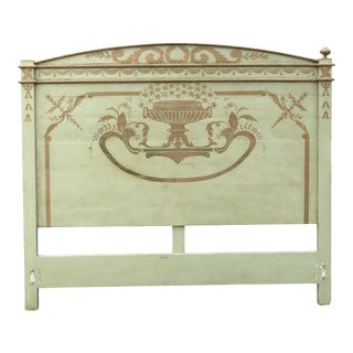 Venetian Headboard by Niermann Weeks Purchased Early 1980's For Sale