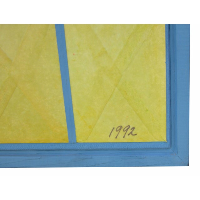Geometric Painting by Nelson Dudley - Image 5 of 5