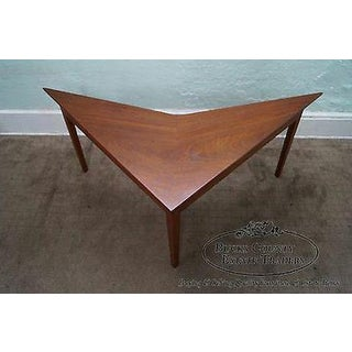 Mid Century Modern Studio Made Triangle Boomerang Low Table Preview