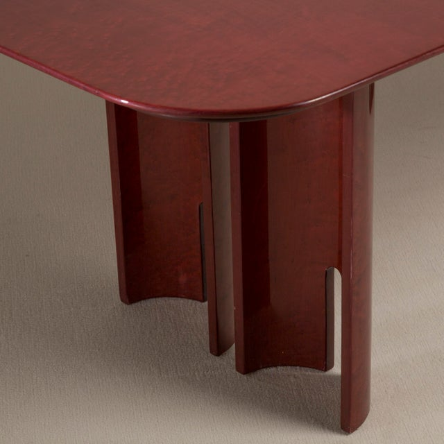 A Saporiti Designed Extendable Dining Table, 1990s For Sale - Image 6 of 8