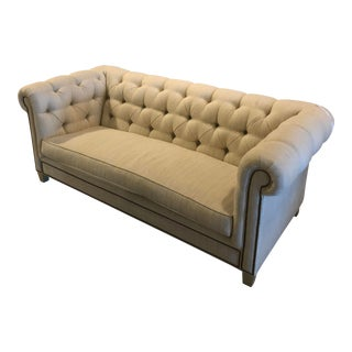 Traditional Chesterfield Sofa For Sale