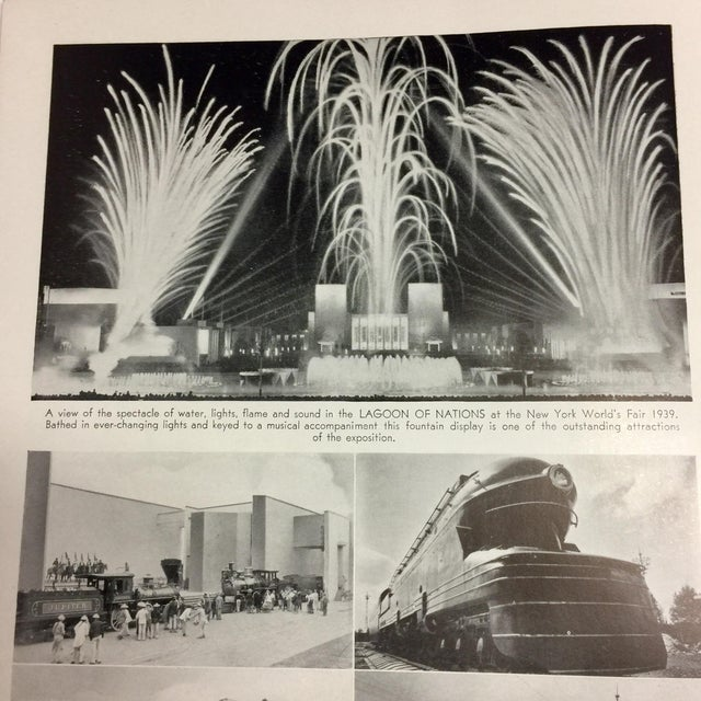 1939 New York World's Fair in Pictures Book For Sale - Image 10 of 12
